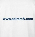 acirema.com tee shirts are 100%, made in the USA and promote American / U.S. manufacturing.